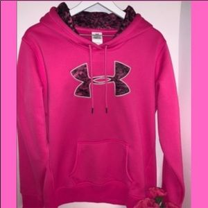 Under Armour Pink Graphic Hoodie